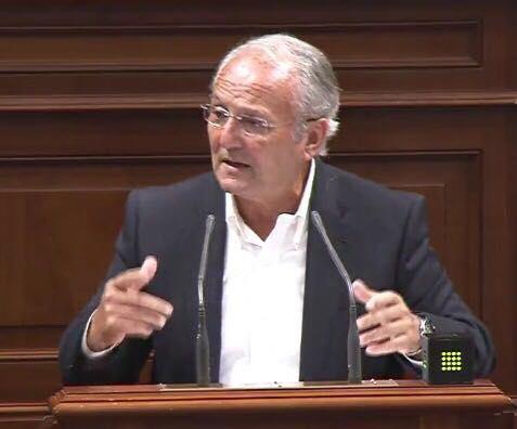 Juan Manuel García Ramos, Presidente Nacional del partido nacionalista canario